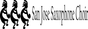San Jose Saxophone Choir Logo